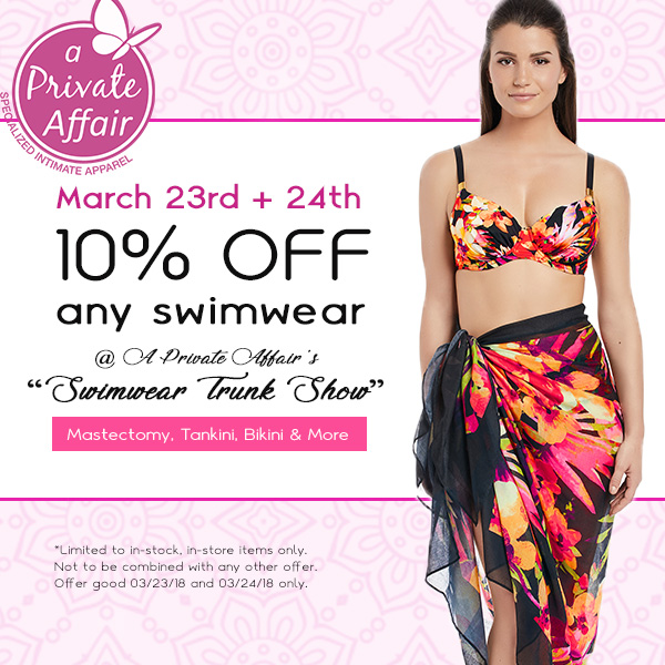 Bras and Under Garments - A Private Affair March Special Coupon